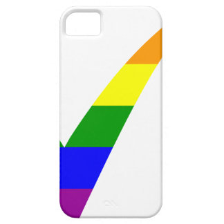 Multi-Color Rainbow Check Mark iPhone 5 Cover