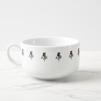 Multi-Color Roses Soup Mug