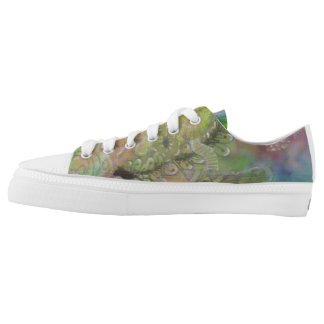 Multi-color Shoes by Celestine Printed Shoes