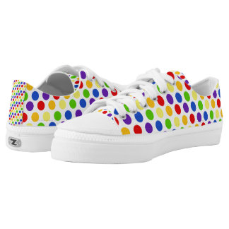Multi Color Small Polka Dots (2).jpg Low Tops