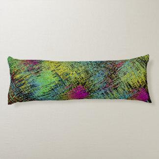Multi-Color Stitches Body Cushion