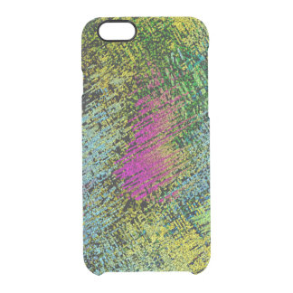 Multi-Color Stitches Clear iPhone 6/6S Case