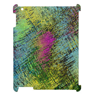 Multi-Color Stitches iPad Case