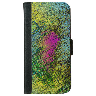 Multi-Color Stitches iPhone 6 Wallet Case