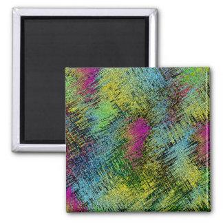 Multi-Color Stitches Magnet