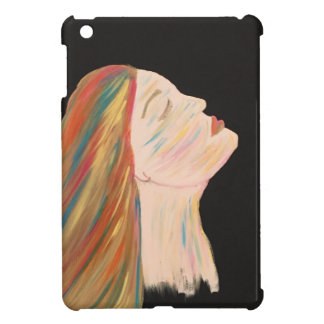 Multi-color Woman iPad Mini Case