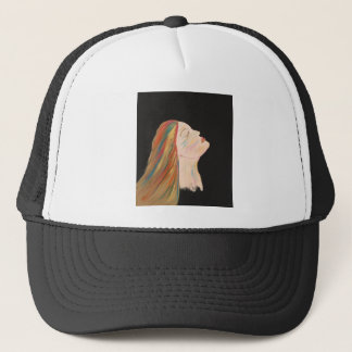 Multi-color Woman Trucker Hat