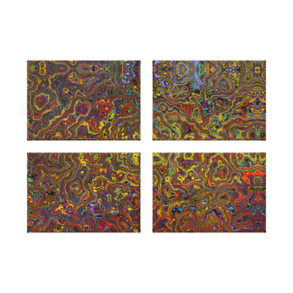 Multi-Colored Abstract 26 Wall Art