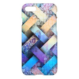 Multi Colored Basket Weave Design iPhone 8/7 Case