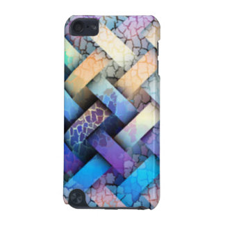 Multi Colored Basket Weave Design iPod Touch (5th Generation) Covers