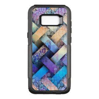 Multi Colored Basket Weave Design OtterBox Commuter Samsung Galaxy S8+ Case