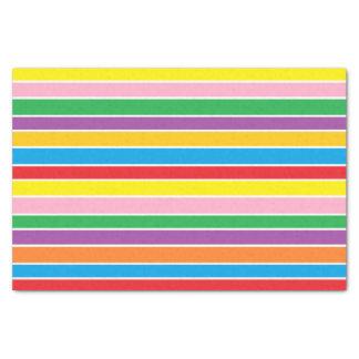Multi-colored Bold Stripey Tissue Paper