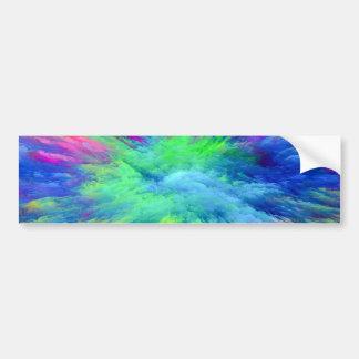 Multi Colored Bumper Sticker