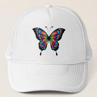Multi Colored Butterfly Trucker Hat