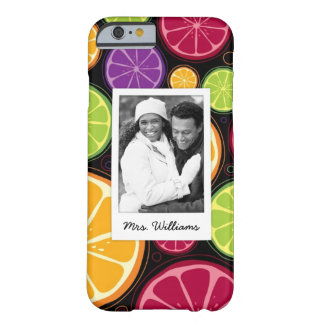 Multi Colored Citrus | Add Your Photo Barely There iPhone 6 Case