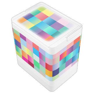 Multi Colored Cooler