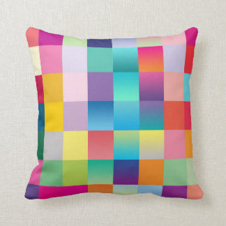 """Multi Colored Design"" Cushion"