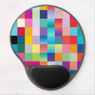 """Multi Colored Design"" Gel Mouse Pad"