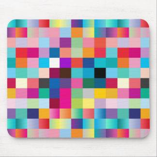 """""""Multi Colored Design"""" Mouse Pad"""