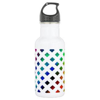 multi-colored Diamonds 532 Ml Water Bottle