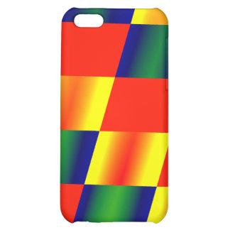 Multi-colored Diamonds iPhone 5C Case