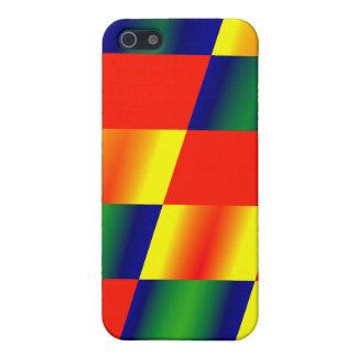 Multi-colored Diamonds iPhone 5/5S Cover