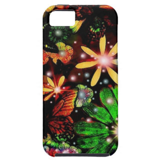 Multi Colored Flowers iPhone 5 Cover