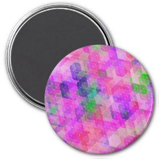 Multi Colored Geometric Constellation Magnet
