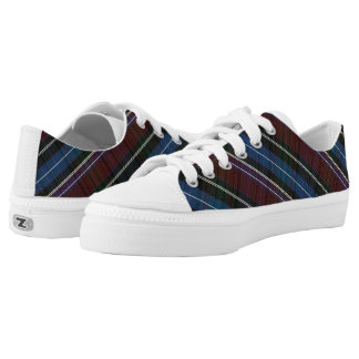 Multi-colored horizontal stripes low tops