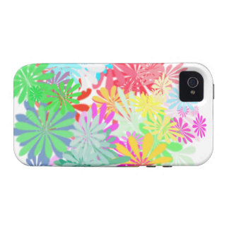 Multi-Colored iPhone Cases Covers Tees house items Vibe iPhone 4 Case
