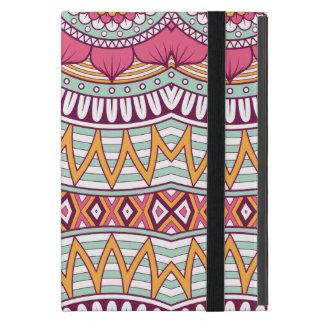 Multi-Colored Mandala Bohemian Pattern iPad Mini Covers
