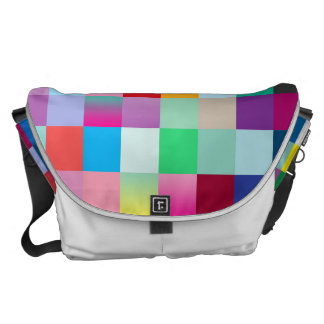 Multi Colored Messenger Bags