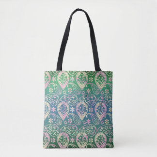 Multi Colored Paisley Tote Bag