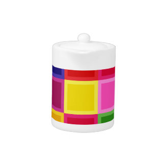 Multi Colored Squares and Stripes Girly