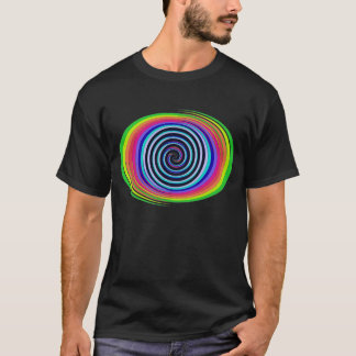 Multi-Colored Swirls T-Shirt