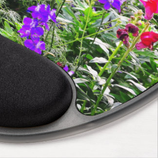 Multi-colored Wildflower Gel Mouse Pad