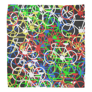 Multi-Colour Bicycle - Cyclist's Bandana