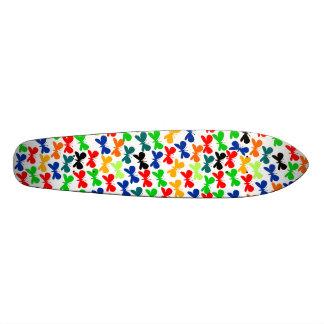 Multi-colour Butterflies 20 Cm Skateboard Deck