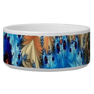 Multi-Colour Decorative Design Pet Bowl