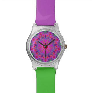 Multi Colour Mandala Wrist Watch