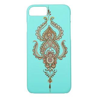 multi colour paisley iPhone 7 case