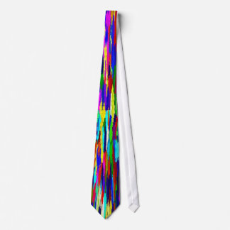 Multi-Coloured Crystals Pattern Tie