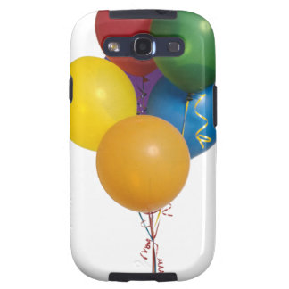 Multi Coloured Party Balloons Samsung Galaxy SIII Case