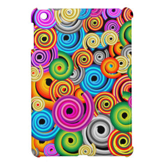 Multi- Coloured Swirls Ipad Case