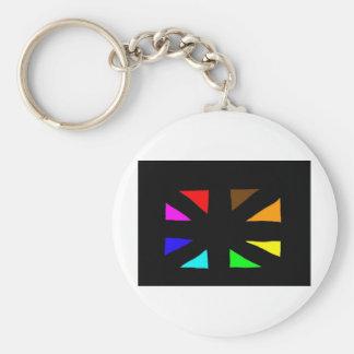 multi-cultural little flag keychains