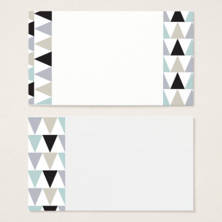 Multi Diamond Pattern Business Cards