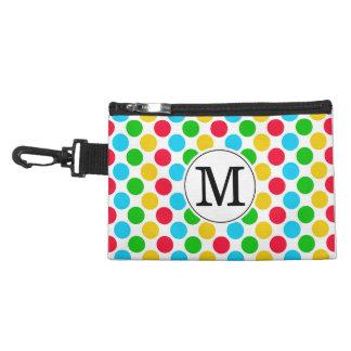 Multi Dot Custom Monogrammed Golf Colorful Tee Bag