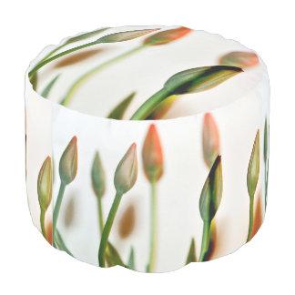 Multi flower pouf