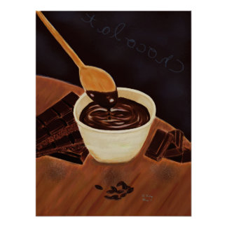 Multi-form Chocolate Poster