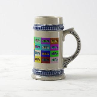 multi MIPs logo beer stein Coffee Mug